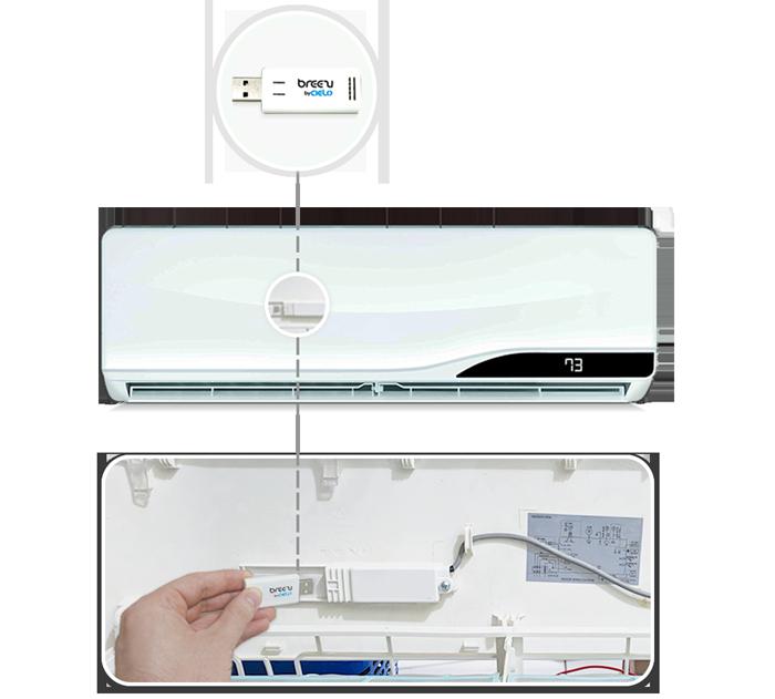 Cielo-Breezi-Smart Wi-Fi Air Conditioner-Controller