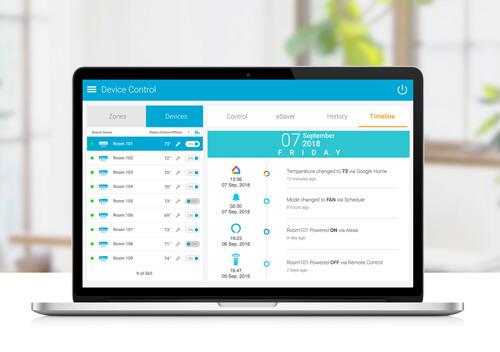Check Timeline of Actions via cielo world enterprise web app