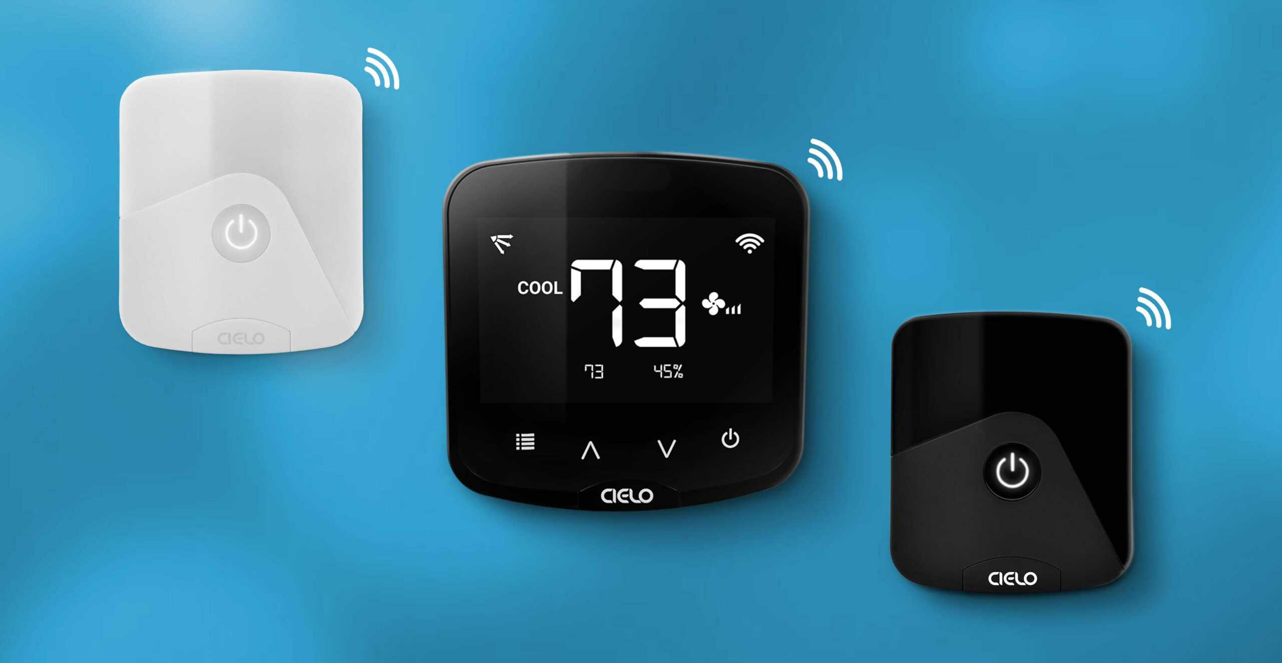 Manage your room temperature and humidity with Cielo smart AC controllers.