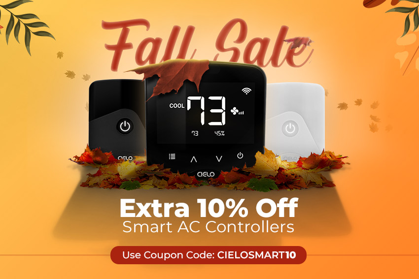 Cielo Breez Smart Air Conditioner Controllers Fall Sale